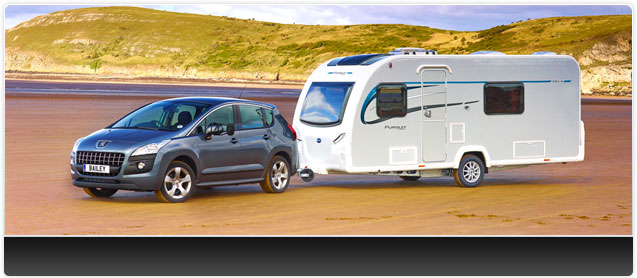 Bailey Pursuit 430 Caravan