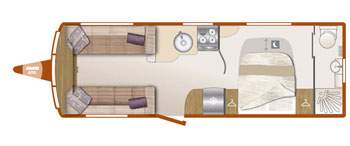 Bailey Unicorn III Cartagena layout