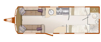 Bailey Unicorn III Cordoba layout