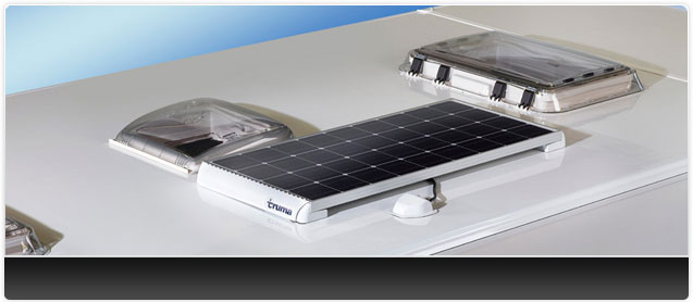 Bailey Unicorn III 100 watt Truma Solar Panel