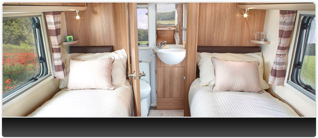 Bailey Unicorn III Cadiz Caravan Interior