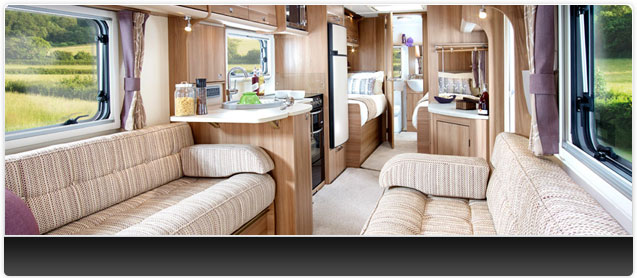 Bailey Unicorn III Cordoba Caravan Interior