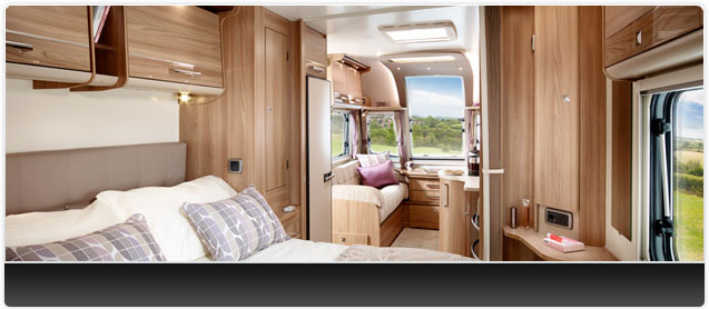Bailey Unicorn III Vigo Caravan Interior
